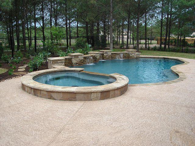 fiberglass pools pool backyard backyard ideas luxury pools pool spa