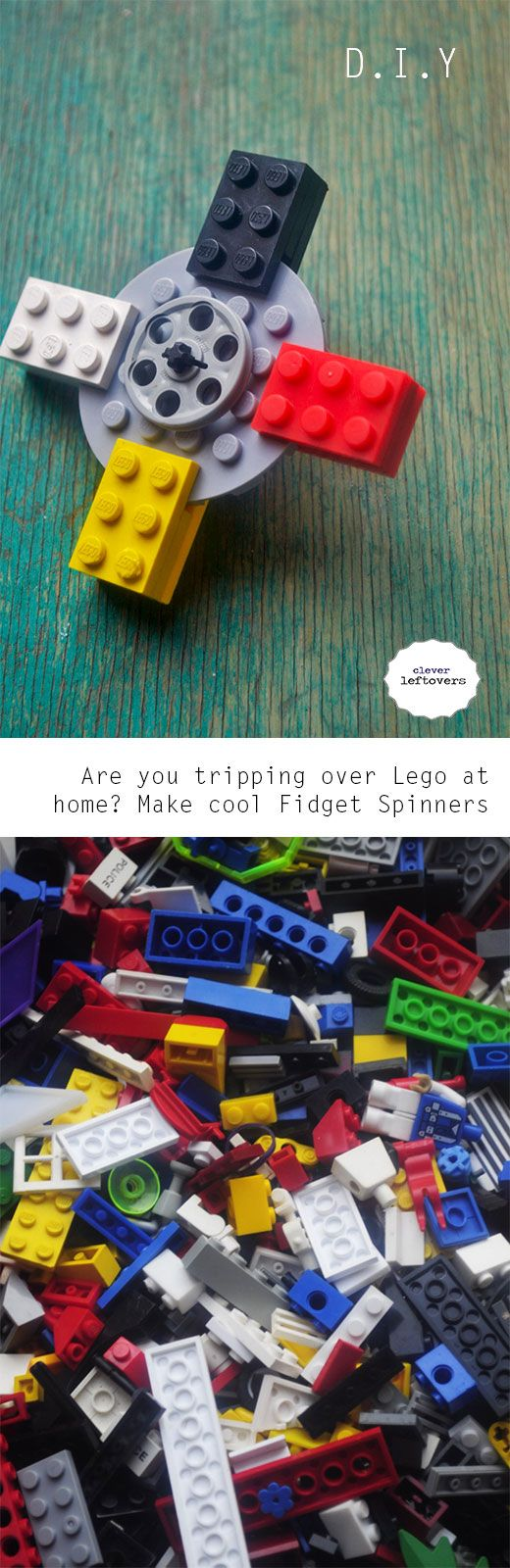 Used lego made cool!