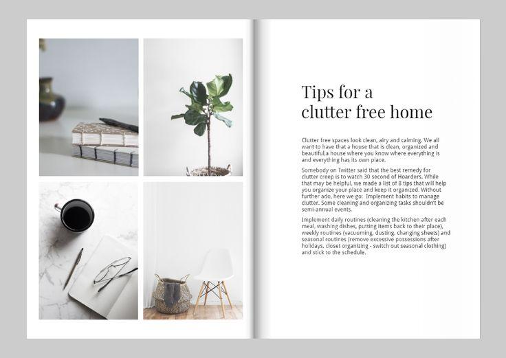 Design a magazine like Kinfolk – Free template edit online