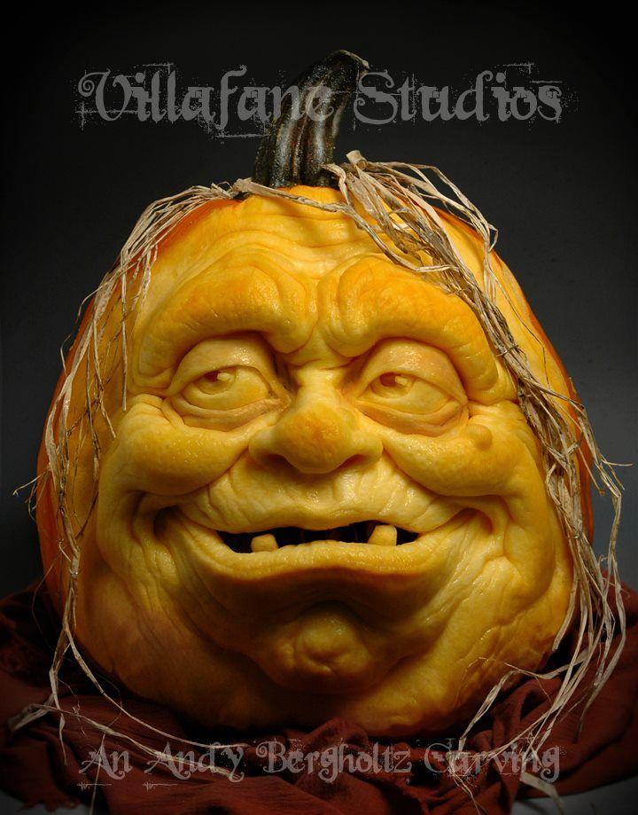 Incredible Pumpkin Sculptures - My Modern Met