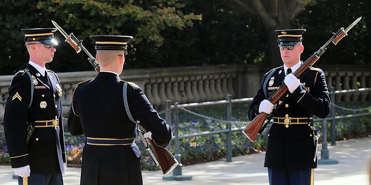 Changing of the Guard, Tomb of the Unknown Soldier, Arlington