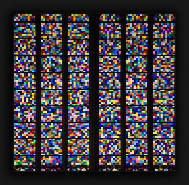 Folksonomy | Cologne Cathedral Pixelated Stained Glass Window