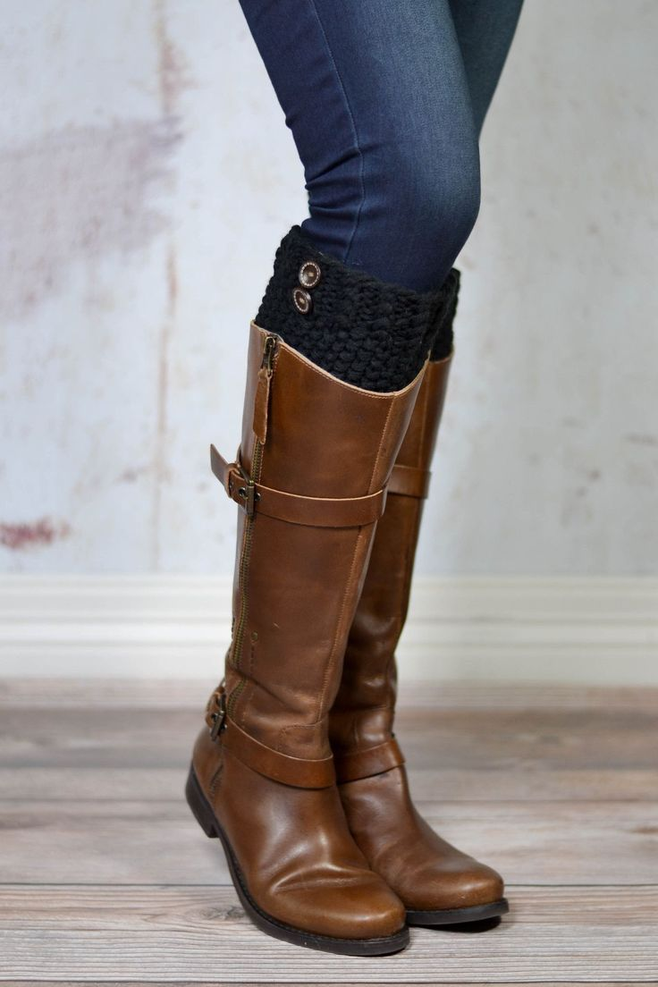 17 best Boot Cuffs images on Pinterest | Stiefelstrümpfe, Boot ...