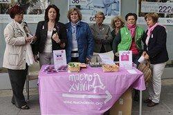 campaña de sensibilización sobre el cáncer de mama