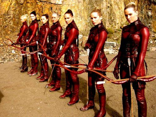 Cait! One day, we should try and get all the ladies to be Mord'Siths for Halloween! :D K? K? K!? :D :D :D PLEASE