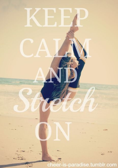 you wanna get a good stretch before a workout cause if you dont then you could pull a muscle or worse.