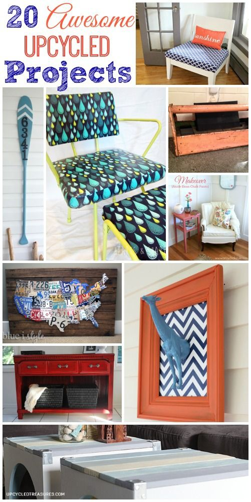 17 best images about be creative on for Best upcycled projects