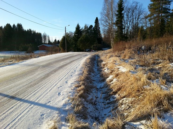 December 1  ,  2016 . Vaatimatonta talven tuntua . NURMIJÄRVI  . FINLAND  .