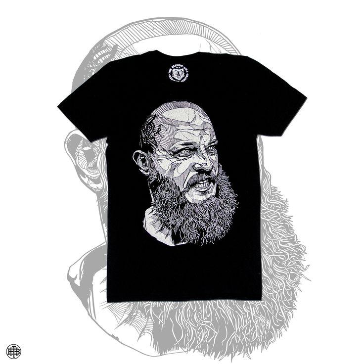 Ragnar Black - £18.95 - Ending Soon!  #vikings streetwear #thebearhug #thebearhugco #lukedixon