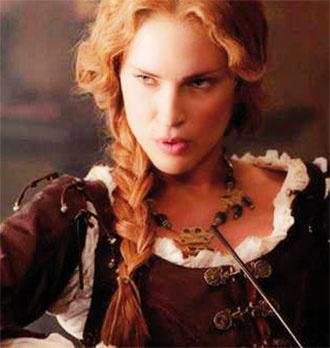 Erin Wasson as Vadoma in Abraham Lincoln: Vampire Hunter