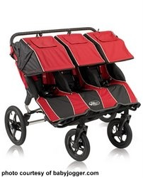Strollers for triplets