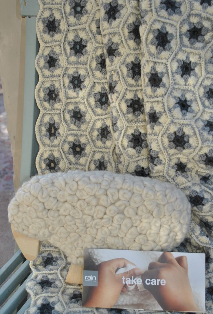 Rain Africa has made these beautiful items from SA Merino wool, to exhibit on the Cape Wools SA stand.