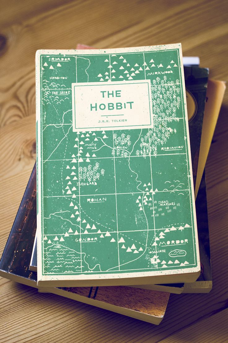 The Hobbit Book Re-cover - Buzz Studios · Brisbane graphic design and illustration