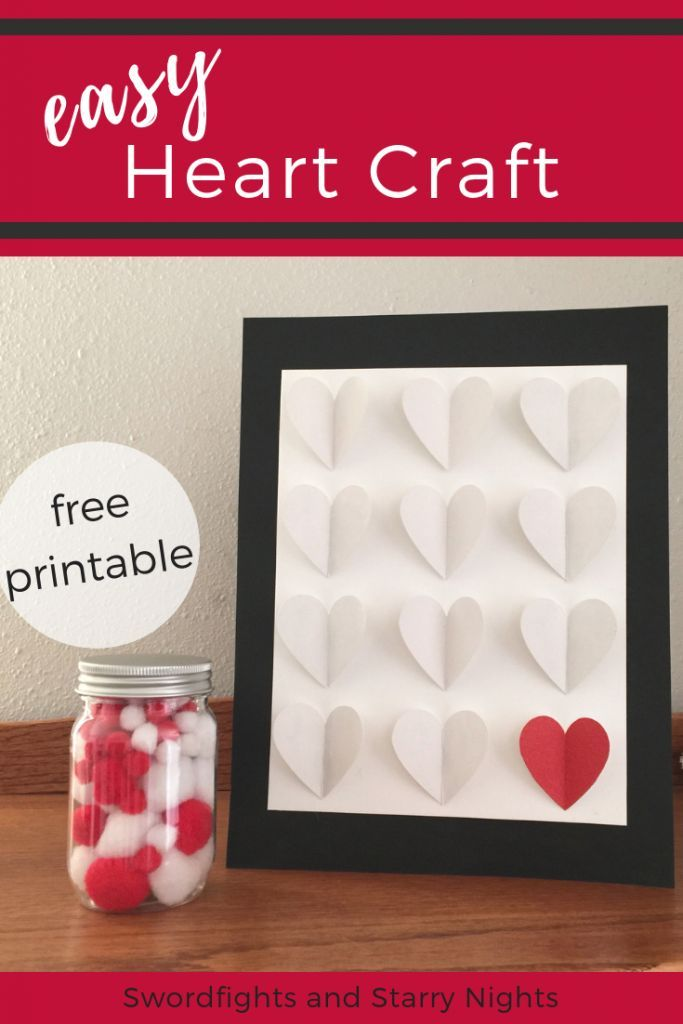 Easy Heart Craft