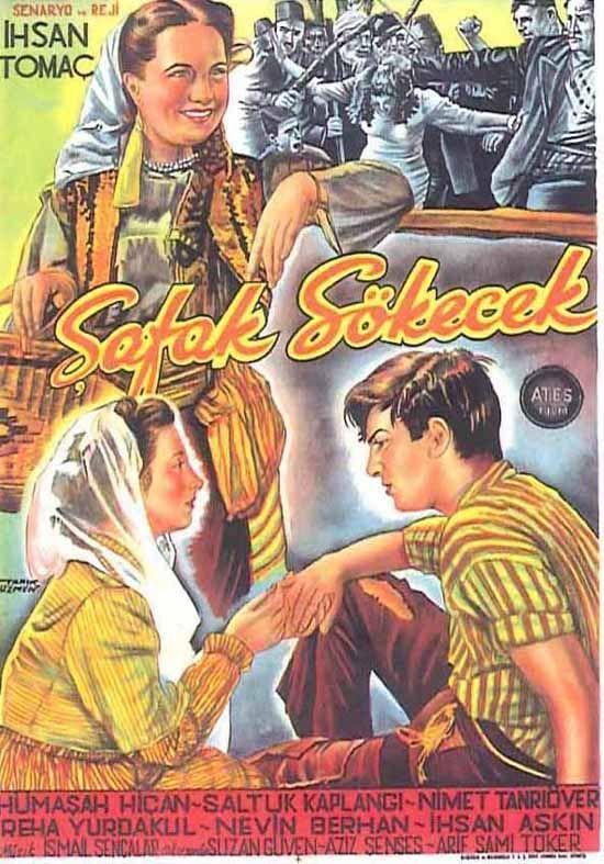 Türk Nostalji - Fotogaleri - Şafak Sökecek (1951) filminin afişi