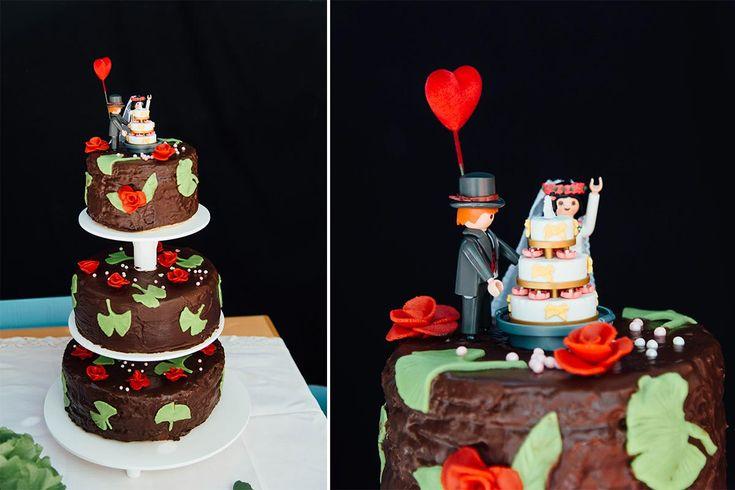 Playmobil wedding cake <3