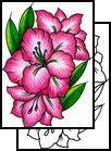 Gladiolus Flower Tattoo | gladiolus Tattoos, flower Tattoos, feminine Tattoos,
