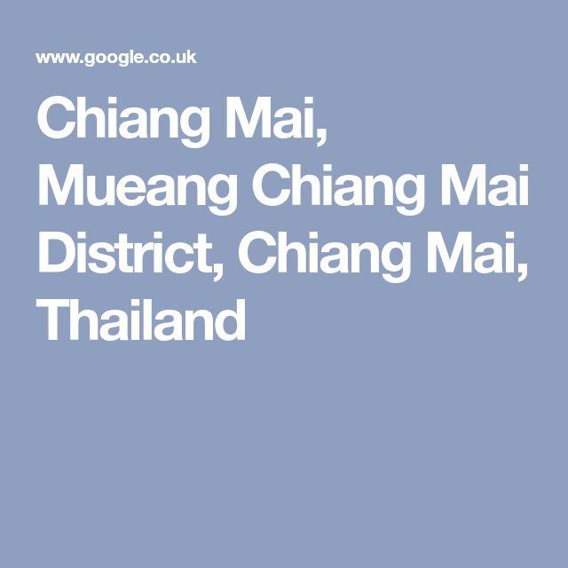 Chiang Mai, Mueang Chiang Mai District, Chiang Mai, Thailand