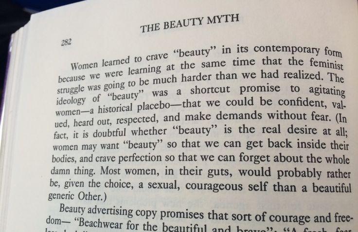 Beauty and womenin societythe beauty myth essay