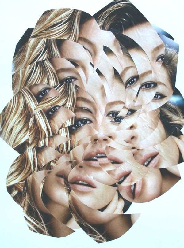 Armed with scissors, glue, and stacks of paper, Portugal-based artist Lola Dupre gets to work – turning anything from magazine ads to iconic images into insane kaleidoscopic collages.