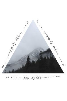 hipster tattoo triangle - Buscar con Google