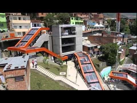 La comuna 13 y sus escaleras eléctricas, referente de progreso y futuro