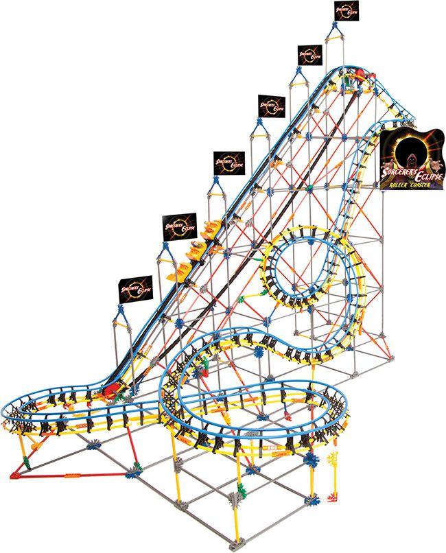 thrill ride roller coaster Sets from k'nex