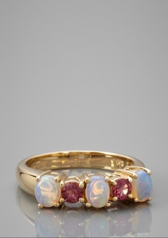 October birth stone ring! Omg so perfect!!