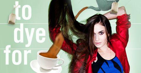 JADATO: DIY-Coffee Hair Dye