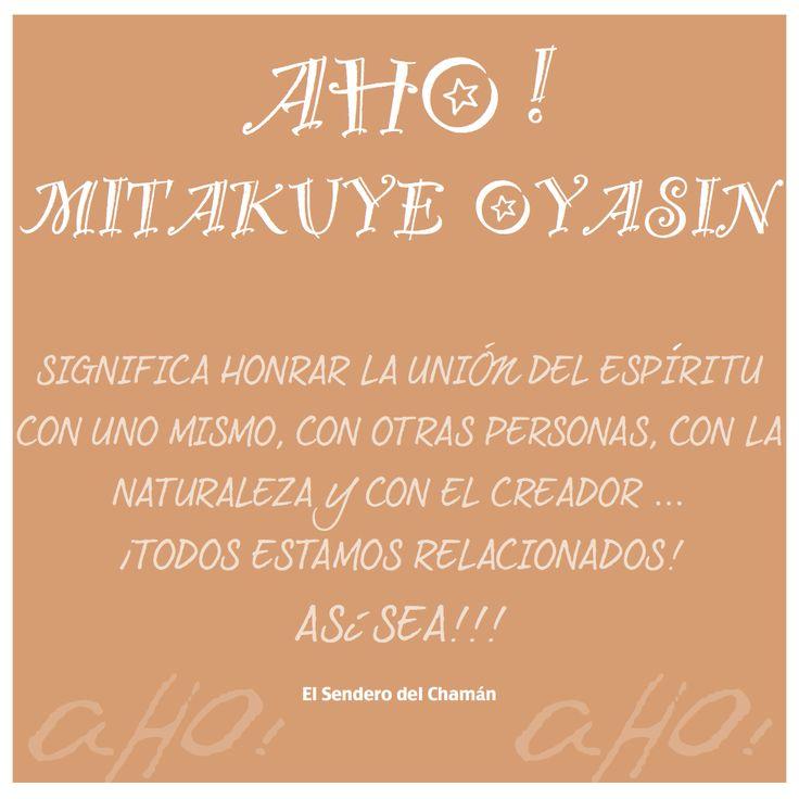 AHO! - Frases Nativas. El Sendero del Chaman.
