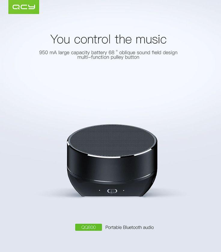 QCY QQ800 Bluetooth 4.1 Speaker Mini Portable MP3 Music Player TF card #QCY