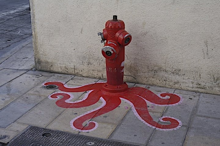 octopus fire hydrant