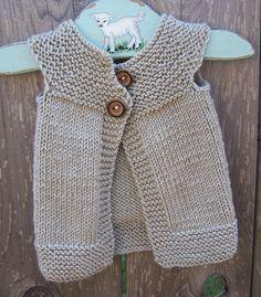 Baby vest for girl