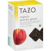 Tazo Organic Peachy Green Tea, 20 Count, Multicolor