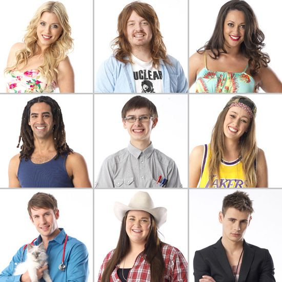 Meet the Big Brother Australia Housemates 2012 — And Find Out Their Secrets