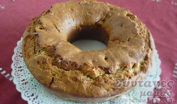 Κέικ μήλου νηστίσιμο | Vegetarian Apple cake