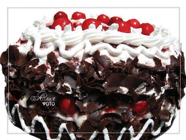 """128. Торт """"""""Вишнево-шоколадный"""""""