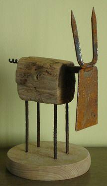 """Saatchi Online Artist Oriol Cabrero; Sculpture, """"dairy cow"""" #art"""