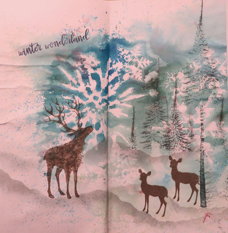"""Letter Journal-Runde """"Winter"""""""