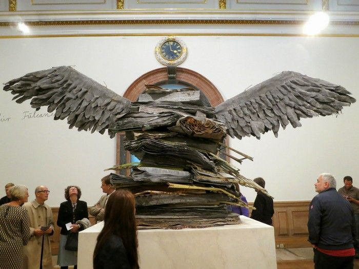 Anselm Kiefer (born 8 March 1945) is a German painter and also dedicated to contemporary sculptures.