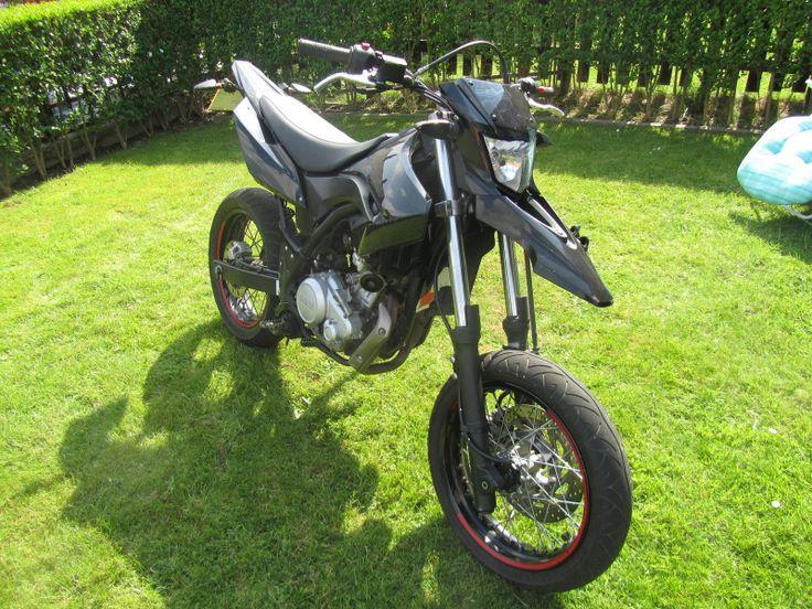 Yamaha wr125 supermoto black yzf 125