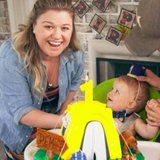 A post shared by Kelly Clarkson (@kellyclarkson) on Apr 12, 2017 at 8:14pm PDT    Kelly Clarkson brushed off her recent recording studio mishap to celebrate her son Remington's first birthday this week.   #POPSUGAR Celebrity