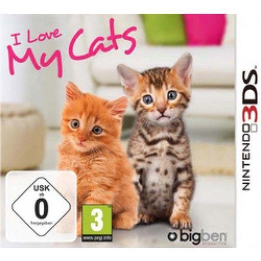 I Love My Cats  3DS in Simulationen FSK 0, Spiele und Games in Online Shop http://Spiel.Zone