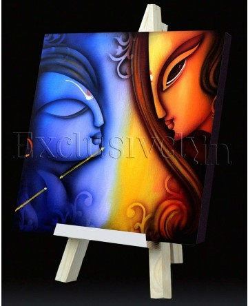 Limited Edition 'Two Portrait with Flute' Painting
