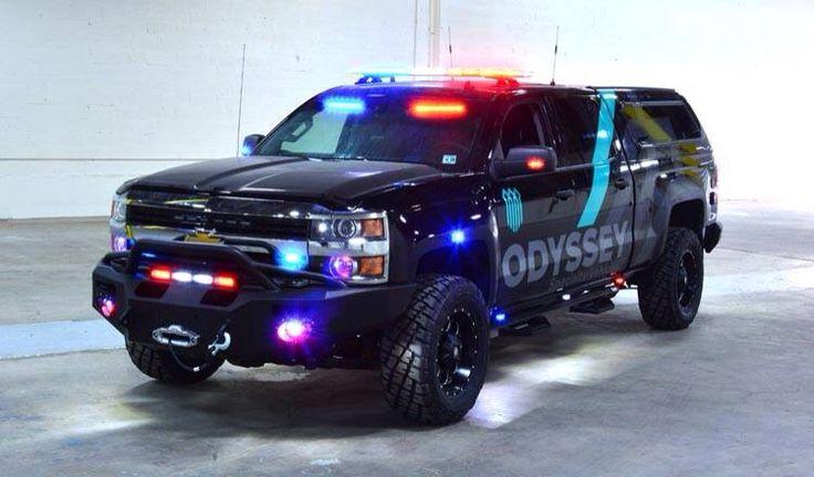 chevy police trucks - photo #21