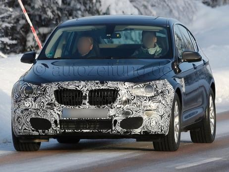 2013 BMW 5er / 5-Series GT Facelift Erlkönig / Spy Shots #bmw #facelift #spyshots