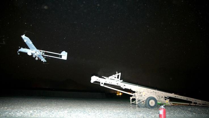RQ-7 Shadow drone launch