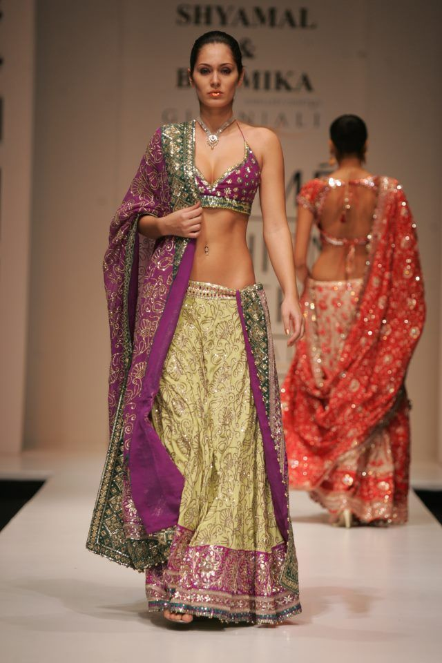 Shyamal & Bhumika lengha