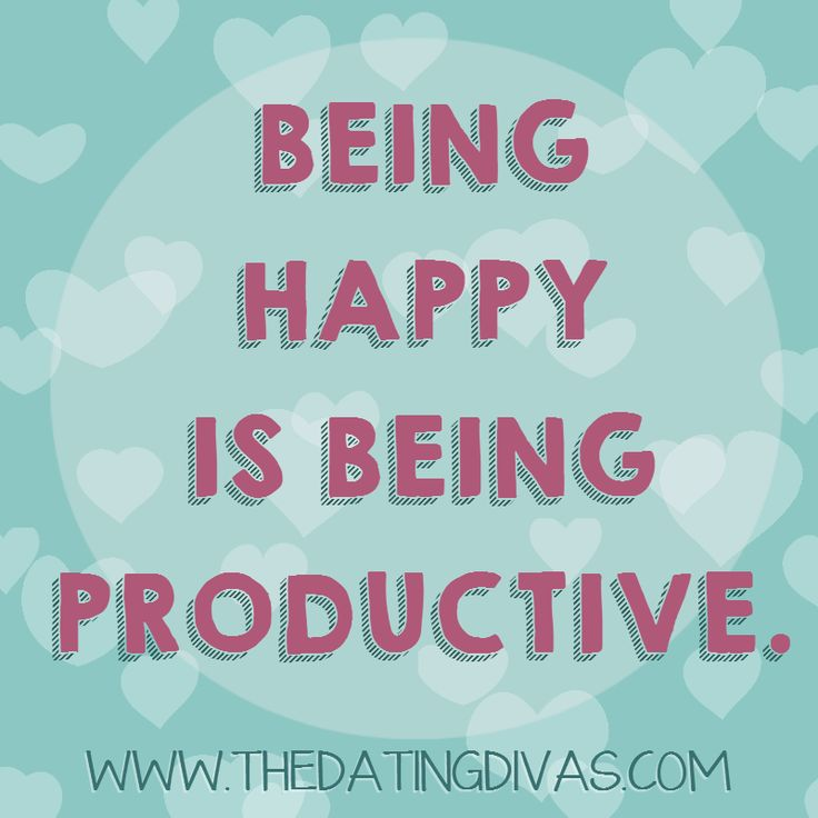 happily productive or productively happy Stop trying to copy what successful people do, and start avoiding what unsuccessful people do.