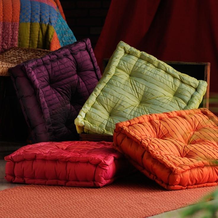 Floor Pillows I want!